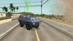Охранник на БТР для GTA San Andreas