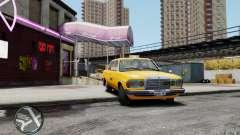 Mercedes-Benz 230 E Taxi для GTA 4
