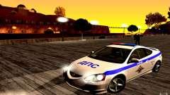 Acura RSX-S Полиция