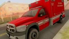 Dodge Ram 1500 LAFD Paramedic для GTA San Andreas