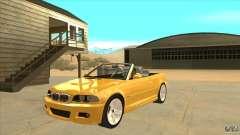 BMW E46 M3 Cabrio для GTA San Andreas