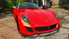 Ferrari 599 GTO 2011 для GTA 4
