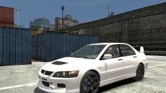 Mitsubishi Lancer Evolution IX 2010 для GTA 4