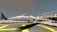 Liberty City Air Force Jet without landing gears (без шосси) для GTA 4