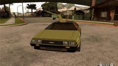 Golden DeLorean DMC-12