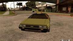 Golden DeLorean DMC-12