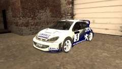 Peugeot 206 WRC из Richard Burns Rally