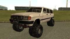 ГАЗ 31022 Волга 4х4 для GTA San Andreas