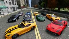 Real Car Pack 2013 Final Version для GTA 4