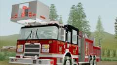Pierce Rear Mount SFFD Ladder 49