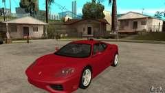 Ferrari 360 Modena для GTA San Andreas