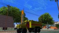 Урал 4320 ГОРСВЕТ для GTA San Andreas