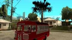Пожарный ПАЗ 672 для GTA San Andreas