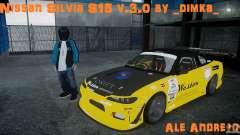 Nissan Silvia S15 v.3.0 для GTA 4
