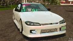 Nissan 240SX facelift Silvia S15 [RIV] для GTA 4