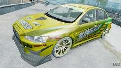 Mitsubishi Lancer X JUN для GTA 4