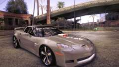 Chevrolet Corvette C6 Z06 Tuning для GTA San Andreas