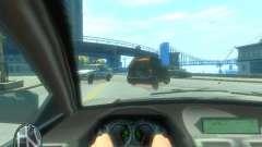 Вид из авто для GTA 4