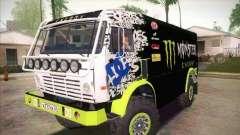 КамАЗ 4911 Мастер Monster Energy