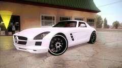 Mercedes-Benz SLS AMG 2010 Hamann Design для GTA San Andreas
