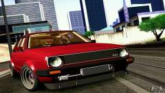 Volkswagen Golf MkII Racing для GTA San Andreas