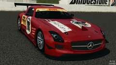 Mercedes-Benz SLS AMG GT3 2011 v1.0 для GTA 4