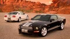 Загрузочные экраны в стиле Ford Mustang