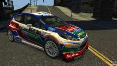 Ford Fiesta RS WRC белый для GTA 4
