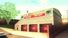 Новая пожарная часть в Сан-Фиерро