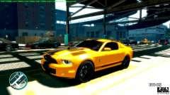 Shelby GT500 Super Snake 2011 для GTA 4