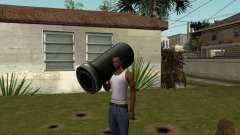 Пушка из Serious Sam для GTA San Andreas