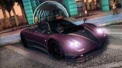 Pagani Zonda Tricolore 2010 для GTA San Andreas