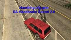 Handling.cfg для SA Handbrake Sound 2.0