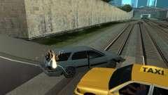 Реалистичный взрыв машин