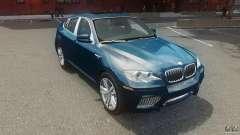BMW Motorsport X6 M для GTA 4