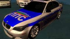 BMW M5 E60 Полиция для GTA San Andreas