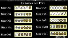 Новые звезды для худа №8
