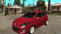Mazda 2 2011 для GTA San Andreas