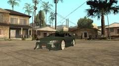 Mitsubishi Eclipse зелёный для GTA San Andreas