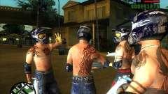 Новые скины для Грув для GTA San Andreas