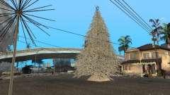 Новый Год на Гроув Стрит для GTA San Andreas