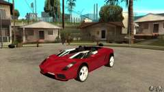 Lamborghini Concept S для GTA San Andreas