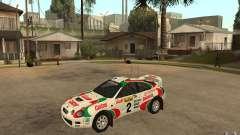 Toyota Celica GT4 DiRT для GTA San Andreas