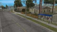 Новая автобусная остановка