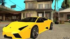 Lamborghini Reventon олива для GTA San Andreas