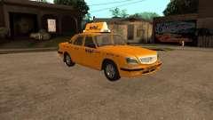 ГАЗ-31105 Волга Такси для GTA San Andreas
