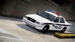 Ford Crown Victoria FBI Police 2003 для GTA 4
