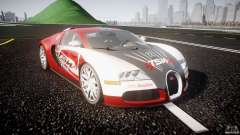 Bugatti Veyron 16.4 v1 для GTA 4