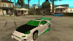 Mitsubishi Eclipse Midnight Club 3 DUB Edition для GTA San Andreas