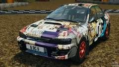Subaru Impreza WRX STI 1995 Rally version олива для GTA 4